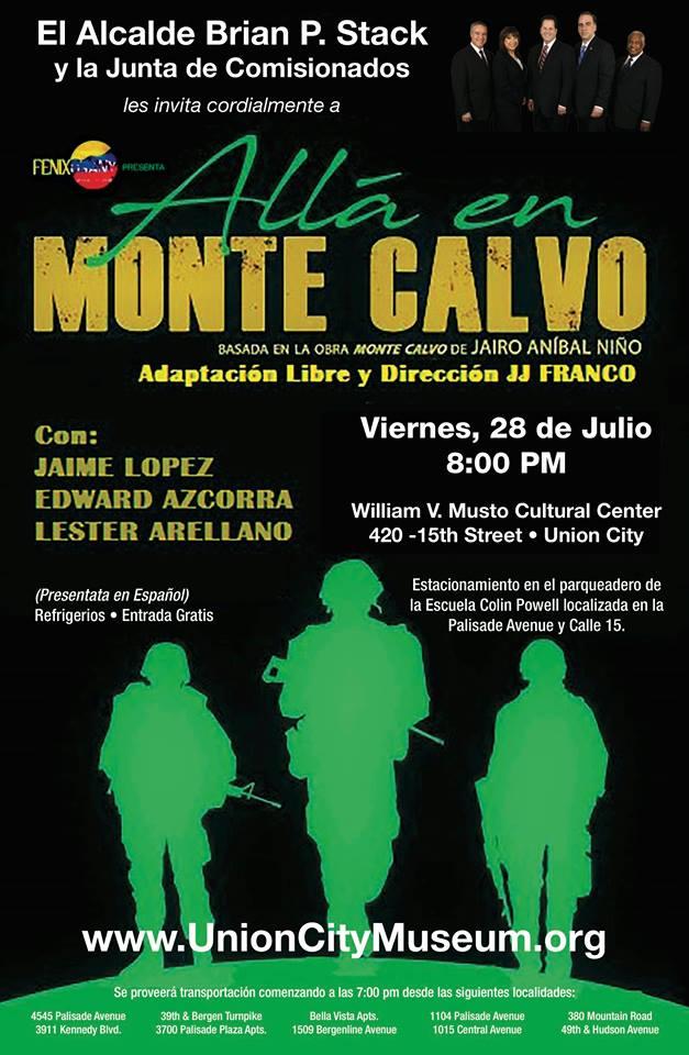 Lexter Arellano, Edward Azcorra y Jaime Lopez